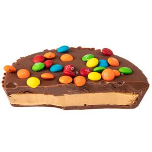 Peanut Butter Candy Pie - slice