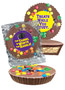 Back To School Peanut Butter Candy Pie - M&M