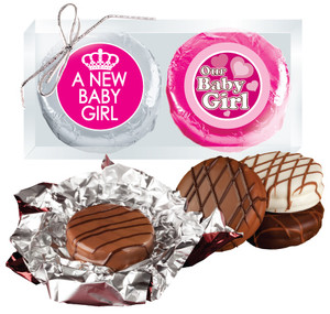 "Baby Girl ""Cookie Talk""  Chocolate Oreo Duo"