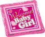 Welcome Baby Girl Chocolate Graham Foil