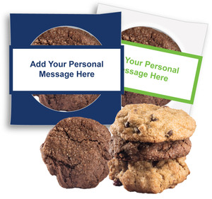 BEST BOSS 'CREATE-YOUR-OWN'  COOKIE SCONE SINGLES W/ MESSAGE