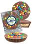 Best Boss Peanut Butter Candy Pie - M&M