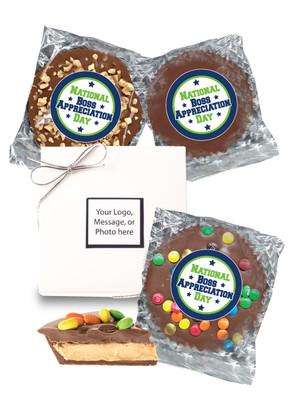 Best Boss Peanut Butter Candy Pies