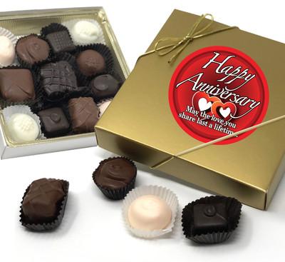 Anniversary Chocolate Candy Box