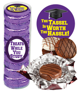 """BACK-TO-SCHOOL """"COOKIE TALK"""" CHOCOLATE OREOS  9 PC.CYLINDER"""