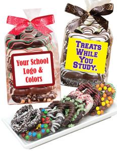 Back-To-School Gourmet Pretzel Bag