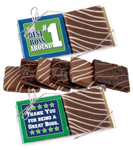 "BEST BOSS ""COOKIE TALK"" CHOCOLATE GRAHAM DUO"