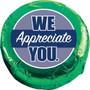 We Appreciate You Chocolate Oreo Cookie