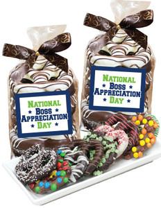 Best Boss Gourmet Chocolate Pretzel Bag