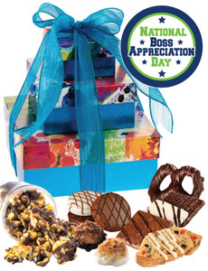 Best Boss 3 Tier Tower of Treats - Blue