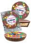 Bar/Bat Mitzvah Peanut Butter Candy Pie - M&M