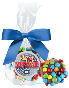 BAR/ BAT MITZVAH  OREO W/ MINI M&Ms