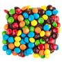 Chocolate Grahams with Mini M&Ms