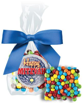 Bar/Bat Mitzvah Chocolate Grahams with Mini M&Ms