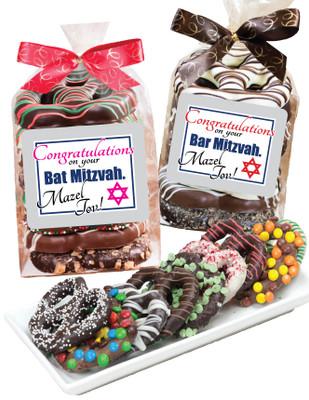 Bar/Bat Mitzvah Gourmet Pretzel Bag