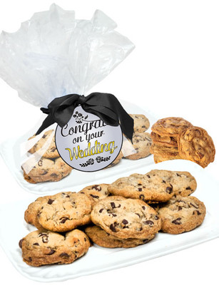Wedding Chocolate Chip Butter Cookie Platter