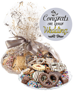 Wedding Cookie Assortment Supreme - Cookies, Pretzel & Candy