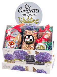 Wedding Keepsake Box of Gourmet Treats