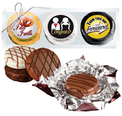 Wedding Cookie Talk Chocolate Oreo Trio