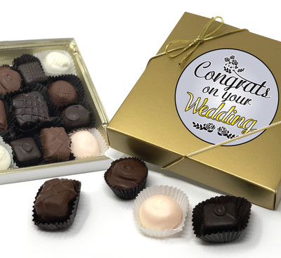 Wedding Chocolate Candy Box