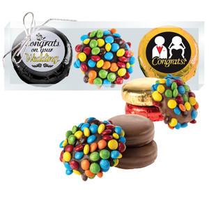 Wedding Mini M&M Chocolate Oreo Trio