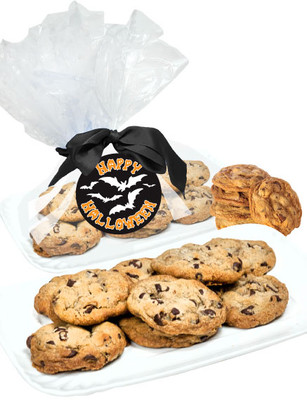 Halloween Butter Chocolate Chip Cookies