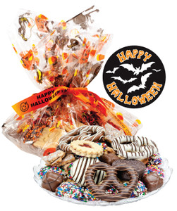 HALLOWEEN COOKIE ASSORTMENT SUPREME - Cookies, Pretzel & Candy