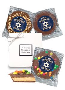 Yom Kippur Peanut Butter Candy Pie