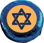 Yom Kippur Chocolate Oreo Cookie - blue foil