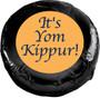 Yom Kippur Chocolate Oreo Cookie - black foil