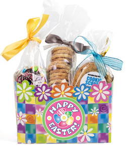 Easter Flower Basket Box of Gourmet Treats - Medium