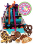 Easter 3 Tier Tower of Treats - Blue Dots