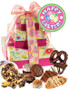 Easter 3 Tier Tower of Treats - Pink & Yellow
