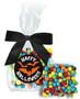 Halloween Chocolate Grahams with Mini M&Ms