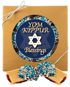 Yom Kippur Raspberry Filled Butter Cookie Gift Box