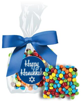 Hanukkah Mini M&M Graham Bag