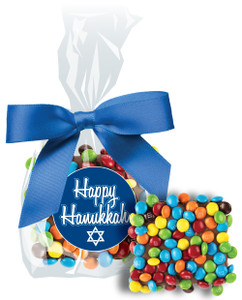 Hanukkah Chocolate Grahams W/ Mini M&Ms