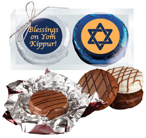 Yom Kippur Cookie Talk Chocolate Oreo Duo