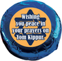Yom Kippur Cookie Talk Chocolate Oreo - blue foil