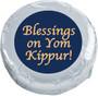 Yom Kippur Cookie Talk Chocolate Oreo - silver foil wrapped