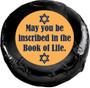 Yom Kippur Cookie Talk Chocolate Oreo - black foil wrapped