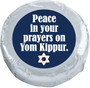 Yom Kippur Cookie Talk Chocolate Oreo - silver foil wrapped message