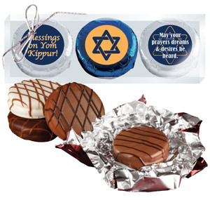 Yom Kippur Cookie Talk 3pc Chocolate Oreo box