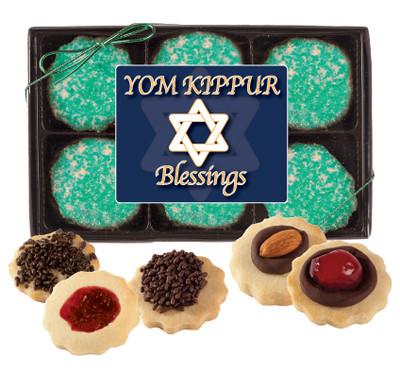 Yom Kippur Butter Cookie Box
