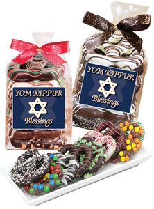 Yom Kippur Pretzel Bag