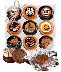 Halloween Cookie Talk Chocolate Oreo 9pc Gift Box