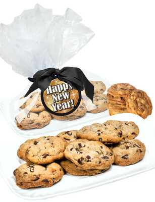 Happy New Year Butter Chocolate Chip Cookie