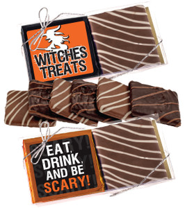 Halloween Cookie Talk Chocolate Graham Duo