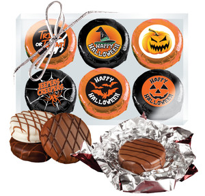 Halloween Cookie Talk Chocolate Oreo 6pc Gift Box