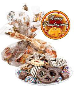 Thanksgiving Cookie Assortment Supreme - Cookies, Pretzel & Candy
